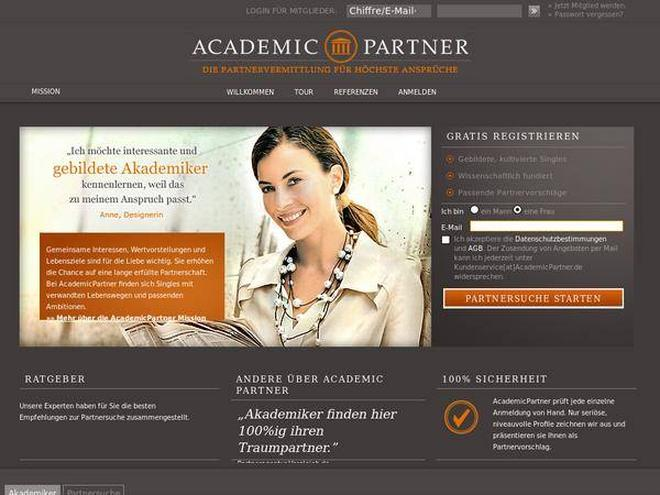 AcademicPartner Screenshot
