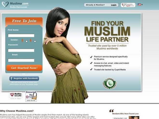 Muslima.com Screenshot